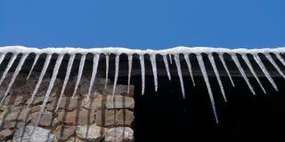 Παγάκι στη χειμερινή ημέρα Στοκ φωτογραφία με δικαίωμα ελεύθερης χρήσης