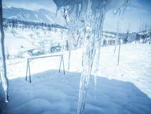 Παγάκι το χειμώνα Στοκ φωτογραφίες με δικαίωμα ελεύθερης χρήσης