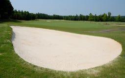 παγίδα άμμου γκολφ σειρά&si Στοκ φωτογραφίες με δικαίωμα ελεύθερης χρήσης