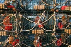 Παγίδες αστακών Στοκ εικόνα με δικαίωμα ελεύθερης χρήσης