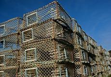 παγίδες καβουριών Στοκ φωτογραφία με δικαίωμα ελεύθερης χρήσης