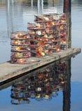 Παγίδες καβουριών Στοκ φωτογραφίες με δικαίωμα ελεύθερης χρήσης