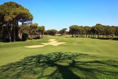 παγίδα άμμου γκολφ σειρά&s Στοκ εικόνα με δικαίωμα ελεύθερης χρήσης