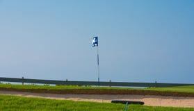 Παγίδα άμμου πριν από την καρφίτσα Στοκ εικόνες με δικαίωμα ελεύθερης χρήσης