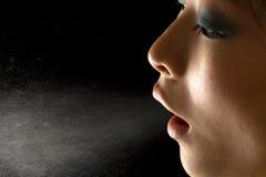παγετός αναπνοής στοκ εικόνες