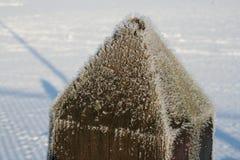 Παγετός σε μια θέση Στοκ Φωτογραφία