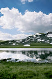 παγετώδης λίμνη Μακεδονία Στοκ φωτογραφία με δικαίωμα ελεύθερης χρήσης