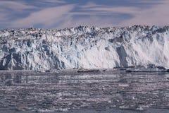 Παγετώνας Γροιλανδία πάγου Στοκ Εικόνες