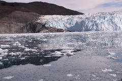 Παγετώνας Γροιλανδία πάγου Στοκ φωτογραφία με δικαίωμα ελεύθερης χρήσης