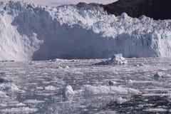 Παγετώνας Γροιλανδία sermia Eqip Στοκ Εικόνα