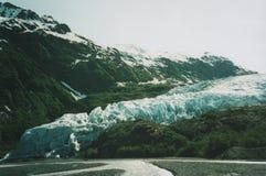 παγετώνας εξόδων της Αλάσκας Στοκ εικόνα με δικαίωμα ελεύθερης χρήσης
