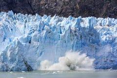 παγετώνας κόλπων της Αλάσκας Στοκ Εικόνα