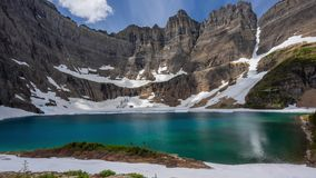 Παγετώνας - λίμνη παγόβουνων υψηλή φιλμ μικρού μήκους