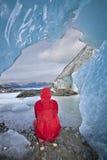 παγετώνας μέσα Στοκ Εικόνα