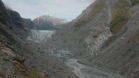 παγετώνας Νέα Ζηλανδία αλ&ep απόθεμα βίντεο
