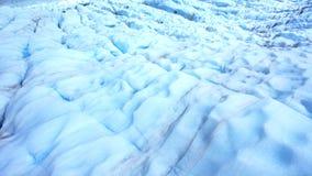 παγετώνας Νέα Ζηλανδία αλ&ep Στοκ Εικόνες