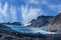 παγετώνας Νορβηγία Στοκ Εικόνες