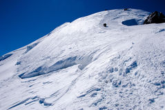 παγετώνας ορειβατών Στοκ Εικόνες