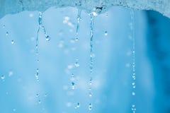 Παγετώνας ρίζας, στάλαγμα πάγου τήξης Στοκ φωτογραφία με δικαίωμα ελεύθερης χρήσης