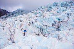 Παγετώνας σε Skaftafell, Ισλανδία Στοκ φωτογραφία με δικαίωμα ελεύθερης χρήσης