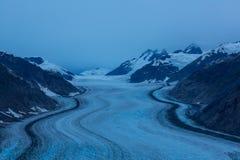 Παγετώνας σολομών Στοκ Εικόνα