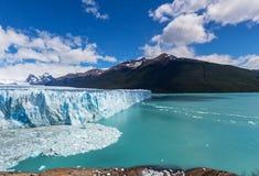 Παγετώνας στην Αργεντινή Στοκ Εικόνες