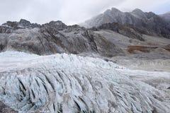 Παγετώνας στο Θιβέτ στοκ φωτογραφία