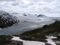 παγετώνας της Αλάσκας Στοκ Φωτογραφίες