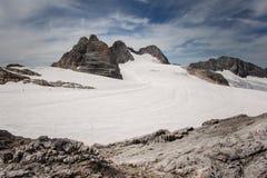 παγετώνας της Αυστρίας dachstei Στοκ φωτογραφία με δικαίωμα ελεύθερης χρήσης