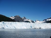 Παγετώνας της Αλάσκας Στοκ Φωτογραφία