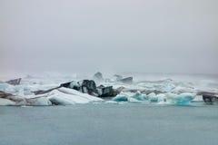 Παγετώνας της Ισλανδίας Vathnajokull Στοκ φωτογραφία με δικαίωμα ελεύθερης χρήσης