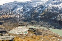 Παγετώνας του Franz Josef Kaiser Grossglockner, αυστριακές Άλπεις Στοκ Φωτογραφίες