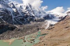 Παγετώνας του Franz Josef Kaiser Grossglockner, αυστριακές Άλπεις Στοκ εικόνες με δικαίωμα ελεύθερης χρήσης