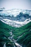 Παγετώνας του Sawyer στα φιορδ της Αλάσκας βραχιόνων tracy κοντά στη ketchikan Αλάσκα Στοκ Φωτογραφίες