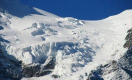 Παγετώνας υψηλών βουνών Στοκ φωτογραφία με δικαίωμα ελεύθερης χρήσης