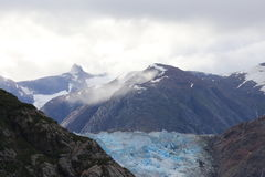 Παγετώνας φιορδ βραχιόνων της Tracy στοκ εικόνες με δικαίωμα ελεύθερης χρήσης