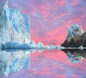 Παγετώνας. Στοκ εικόνα με δικαίωμα ελεύθερης χρήσης