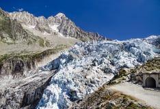 Παγετώνας Argentiere στη Mont Blanc, Γαλλία Στοκ φωτογραφία με δικαίωμα ελεύθερης χρήσης