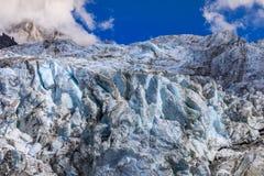 Παγετώνας Argentiere στις Άλπεις Chamonix, Γαλλία Στοκ εικόνα με δικαίωμα ελεύθερης χρήσης