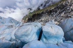 Παγετώνας Argentiere στις Άλπεις Chamonix, Γαλλία Στοκ Εικόνα