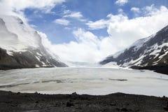παγετώνας athabasca Στοκ εικόνα με δικαίωμα ελεύθερης χρήσης
