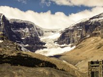 Παγετώνας, Banff, Καναδάς Στοκ εικόνα με δικαίωμα ελεύθερης χρήσης