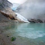 Παγετώνας Briksdal Στοκ εικόνες με δικαίωμα ελεύθερης χρήσης