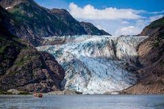 Παγετώνας Davidson, Αλάσκα Στοκ Φωτογραφία