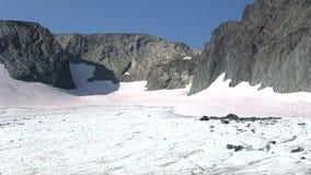 Παγετώνας EGAN Πολικά Ουράλια, Ρωσία απόθεμα βίντεο