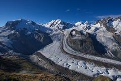 Παγετώνας Gornergrat Στοκ εικόνα με δικαίωμα ελεύθερης χρήσης