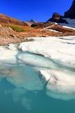 παγετώνας grinnell που λειώνει Στοκ Φωτογραφίες