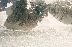 Παγετώνας Hubbard - Αλάσκα Στοκ Εικόνα