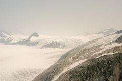 Παγετώνας Hubbard - Αλάσκα Στοκ φωτογραφία με δικαίωμα ελεύθερης χρήσης