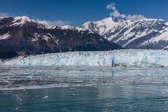 Παγετώνας Hubbard και επιπλέων πάγος Στοκ φωτογραφία με δικαίωμα ελεύθερης χρήσης